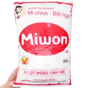Bột ngọt Miwon gói 2kg