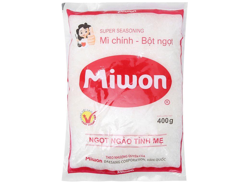 Bột ngọt Miwon gói 400g 1