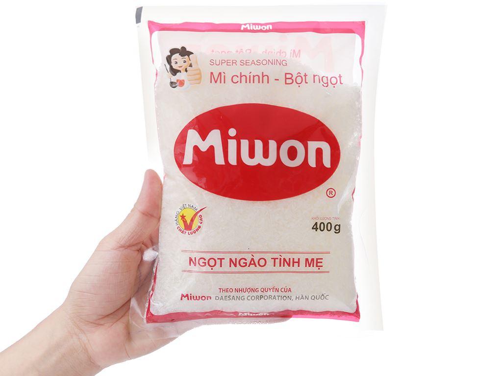 Bột ngọt Miwon gói 400g 3