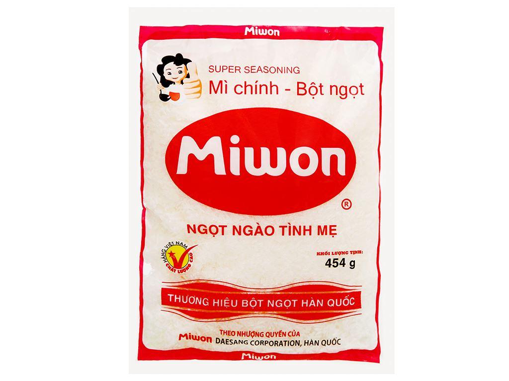 Bột ngọt Miwon gói 454g 5