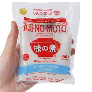 Bột ngọt Ajinomoto hạt lớn 100g