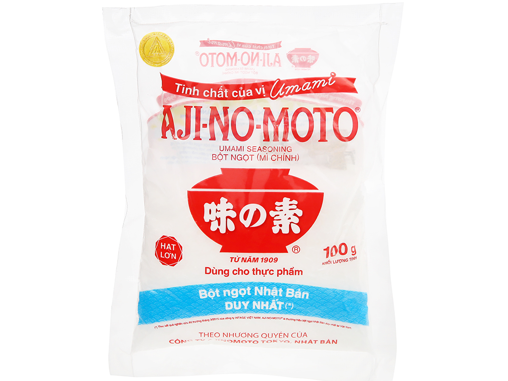 Bột ngọt Ajinomoto gói 100g 6