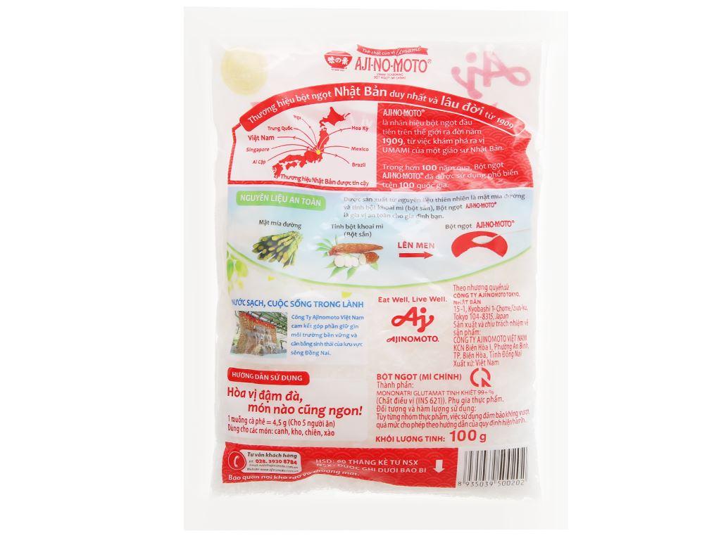 Bột ngọt Ajinomoto gói 100g 2