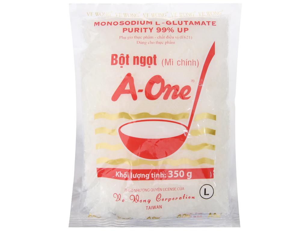 Bột ngọt A-One gói 350g 1