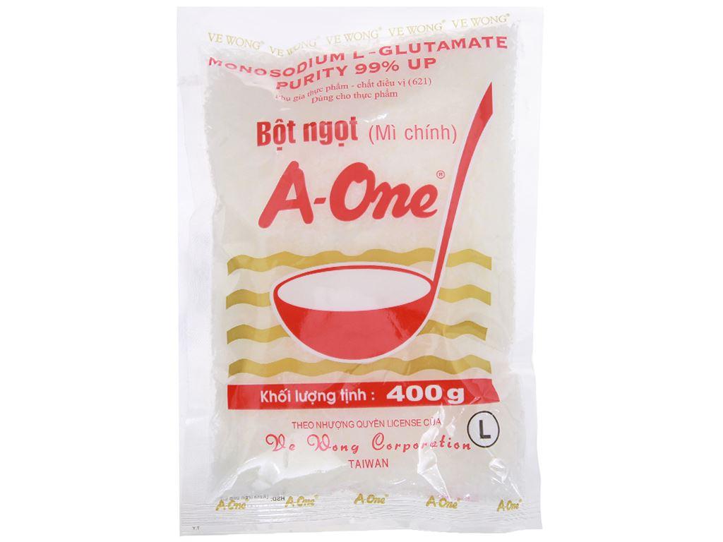 Bột ngọt A-One gói 400g 1