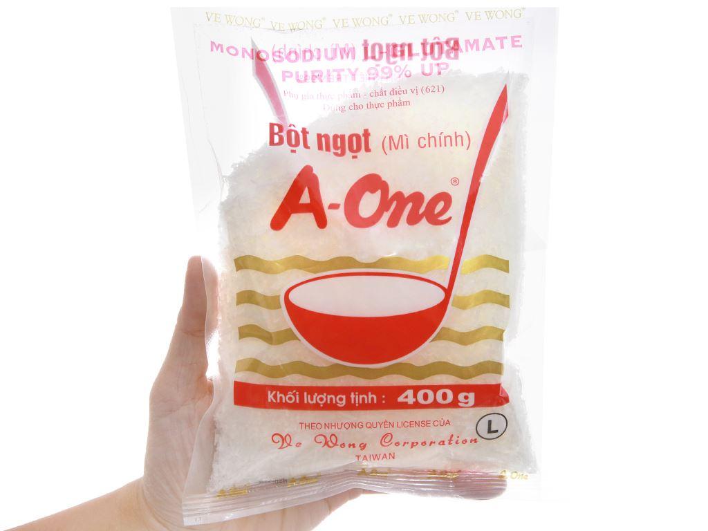 Bột ngọt A-One gói 400g 3