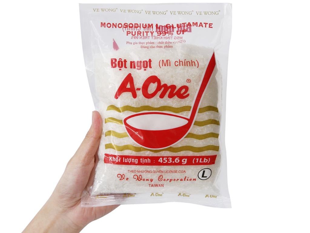 Bột ngọt A-One gói 454g 3