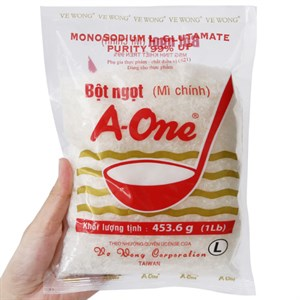Bột ngọt A One 454g