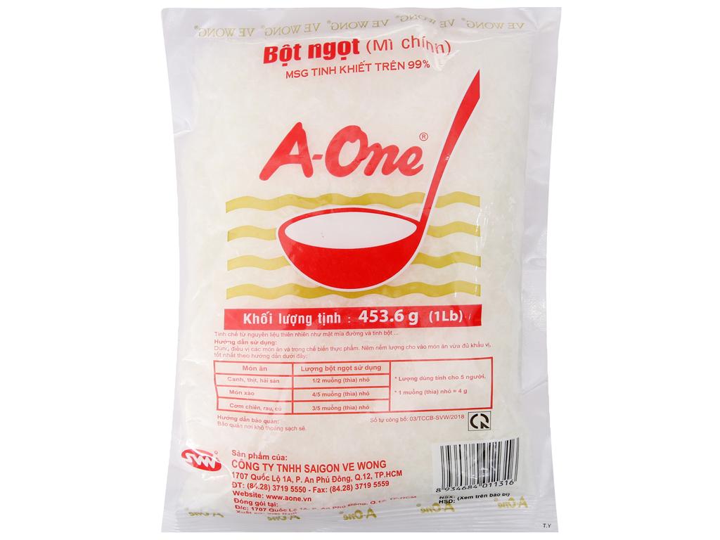 Bột ngọt A-One gói 454g 2