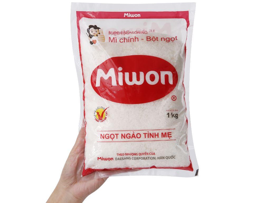 Bột ngọt Miwon gói 1kg 3