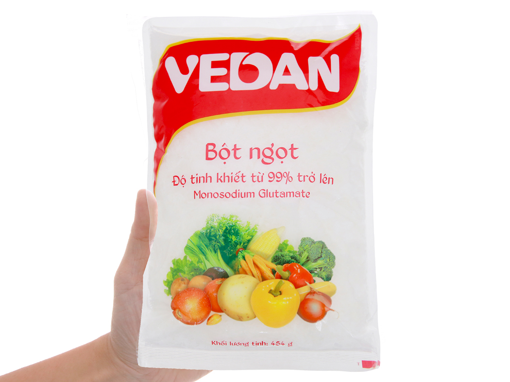 Bột ngọt Vedan gói 454g 3