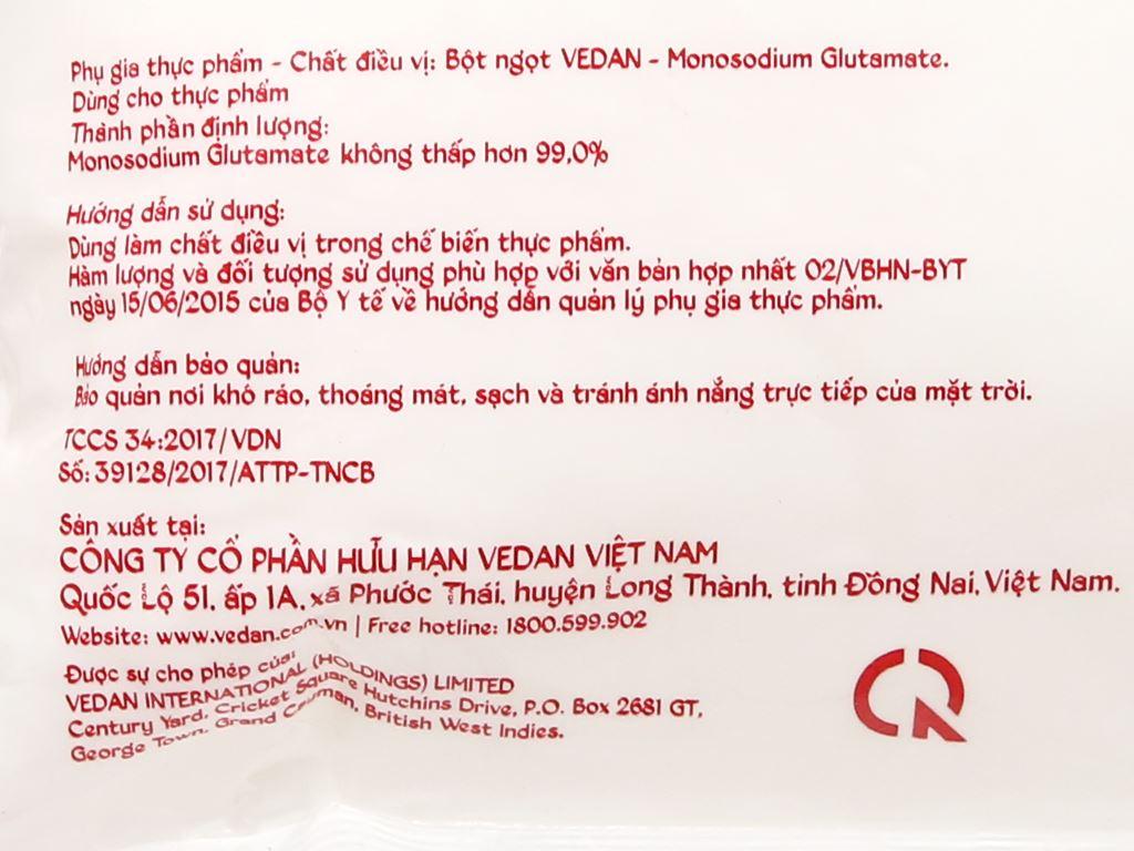 Bột ngọt Vedan gói 454g 7