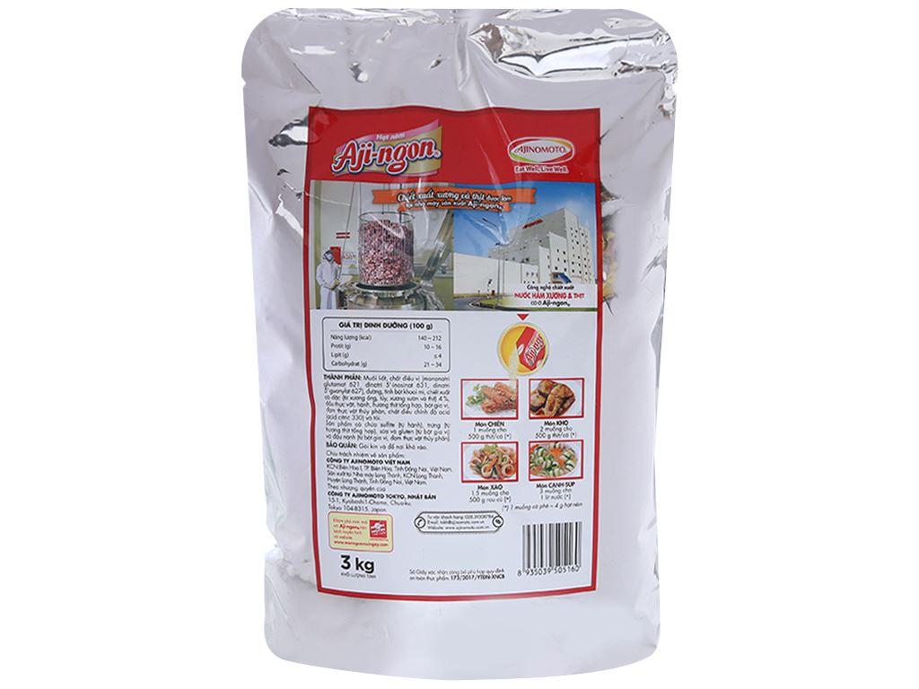Hạt nêm vị heo Aji-ngon gói 3kg 2