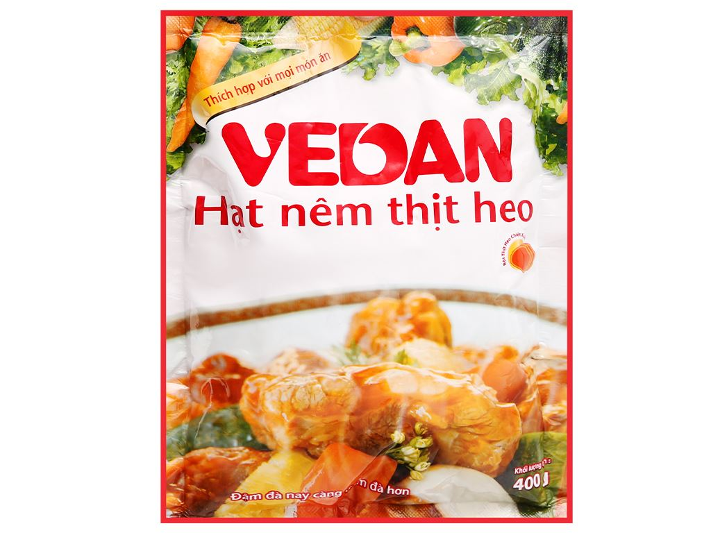 Hạt nêm thịt heo Vedan gói 400g 1