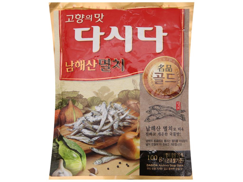 Hạt nêm cá cơm DASIDA gói 100g 2