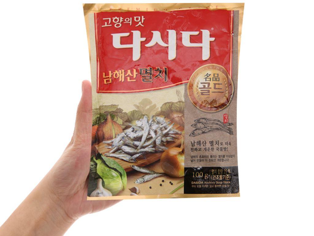 Hạt nêm cá cơm DASIDA gói 100g 3