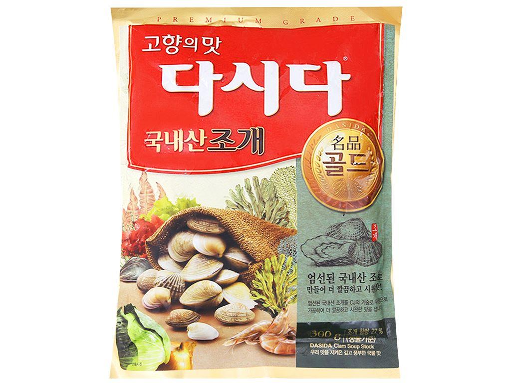 Hạt nêm nghêu, sò DASIDA gói 300g 1