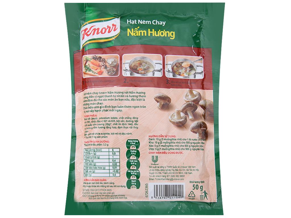Hạt nêm Nấm hương Knorr gói 25g 2