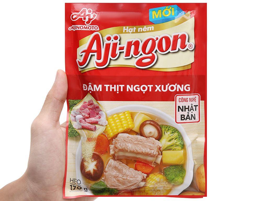Hạt nêm vị heo Aji-ngon gói 170g 5