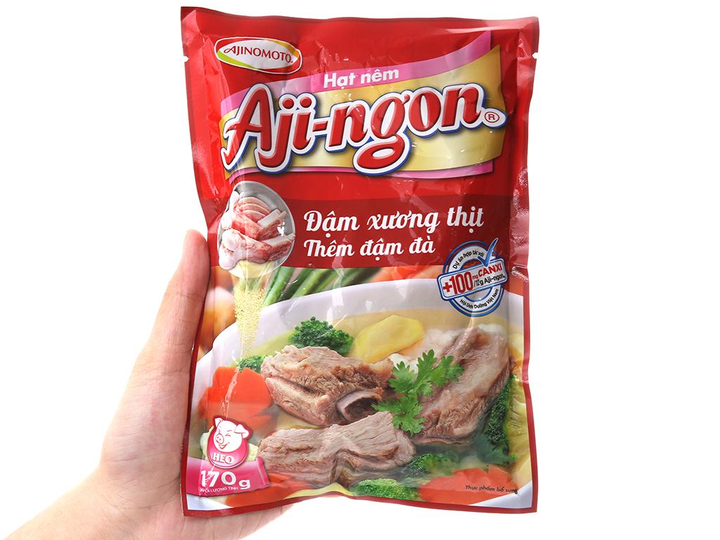 Hạt nêm Xương, thịt heo Aji-ngon gói 170g 3