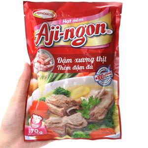 Hạt nêm xương, thịt heo Aji-ngon gói 170g