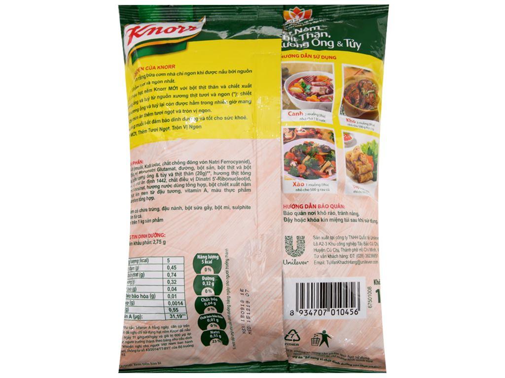 Hạt nêm thịt thăn, xương ống, tủy Knorr gói 1,2kg 2