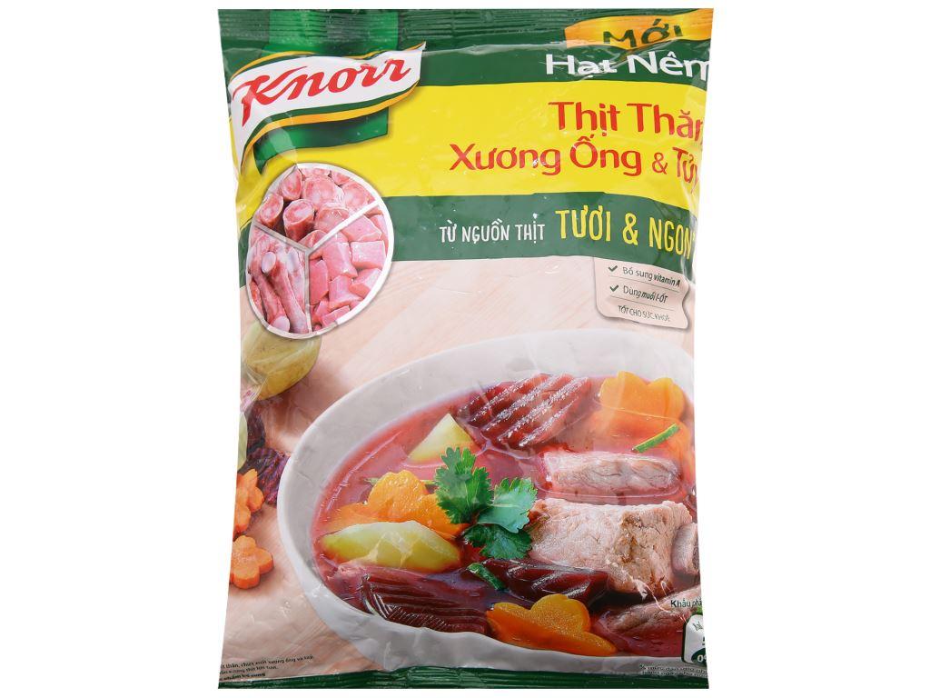 Hạt nêm thịt thăn, xương ống, tủy Knorr gói 1,2kg 1