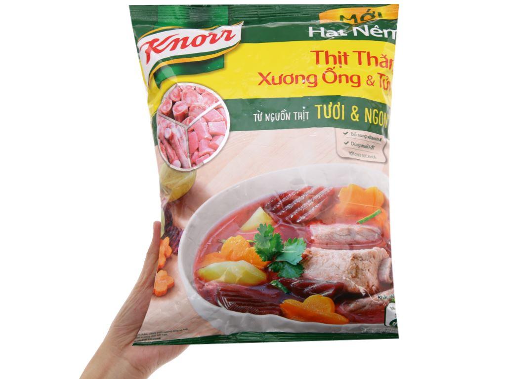 Hạt nêm thịt thăn, xương ống, tủy Knorr gói 1,2kg 3