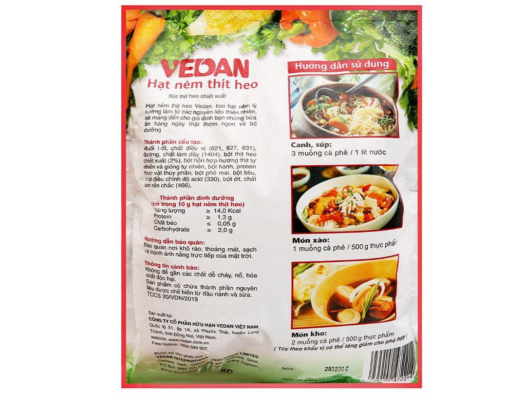 Hạt nêm thịt heo Vedan gói 1kg 2