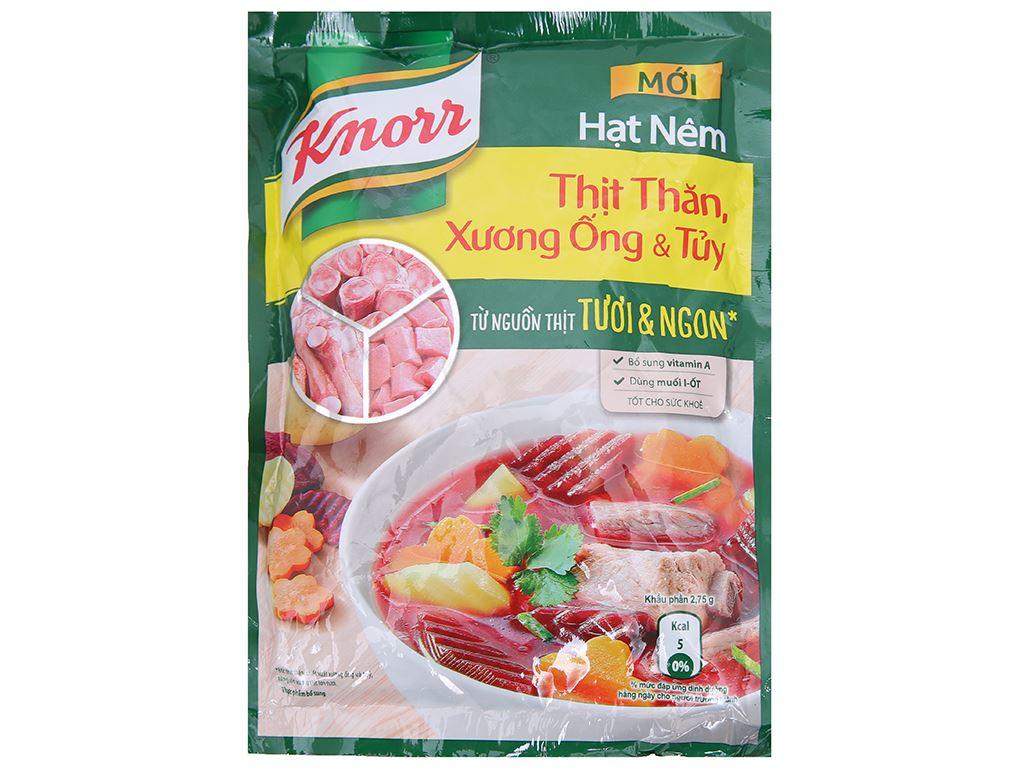 Hạt nêm thịt thăn, xương ống, tủy Knorr gói 170g 1