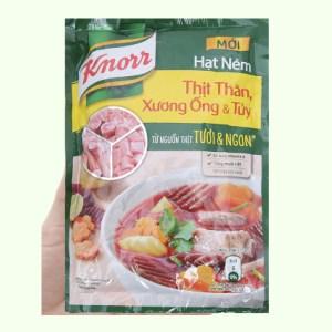 Hạt nêm thịt thăn, xương ống, tủy Knorr gói 170g