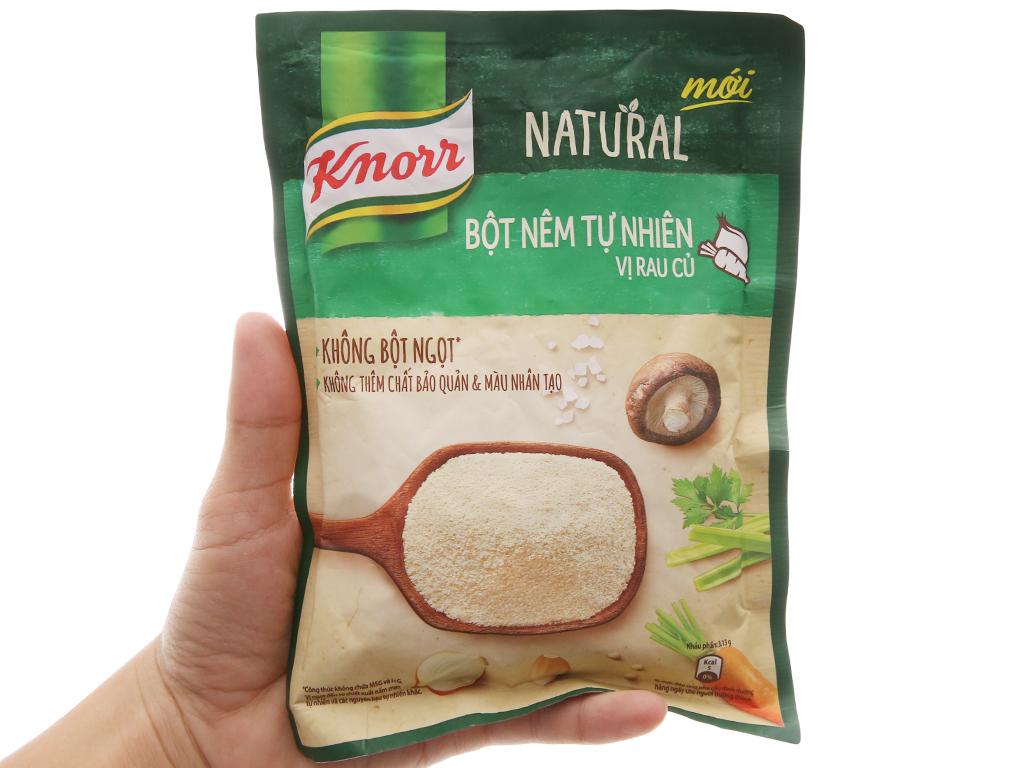 Bột nêm Tự nhiên vị rau củ Knorr Natural gói 150g 3