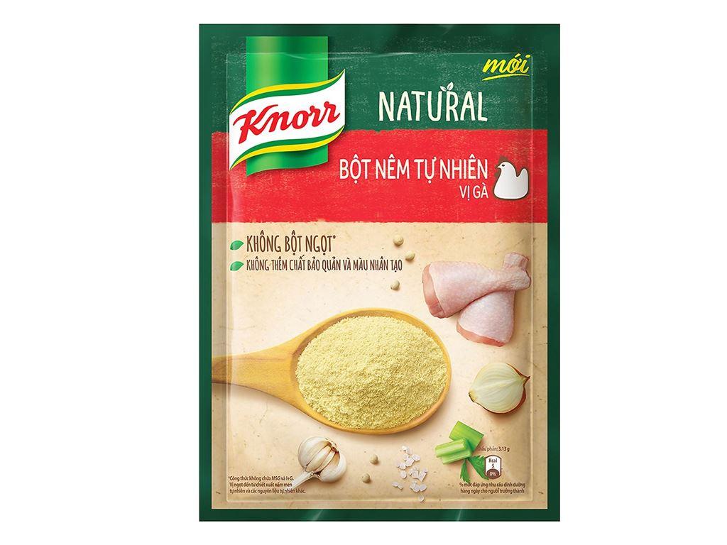 Hạt nêm tự nhiên vị gà Knorr Natural gói 330g 1