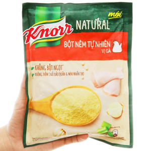 Bột nêm Tự nhiên vị gà Knorr Natural gói 330g