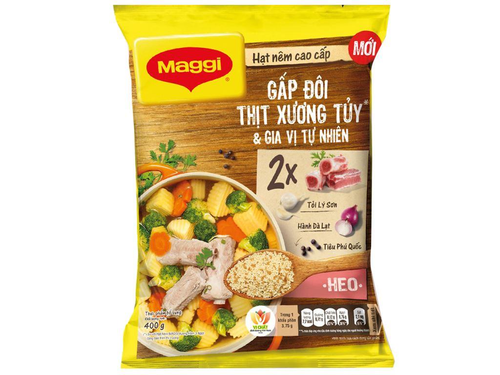 Hạt nêm thịt, xương, tủy Maggi gói 400g 1