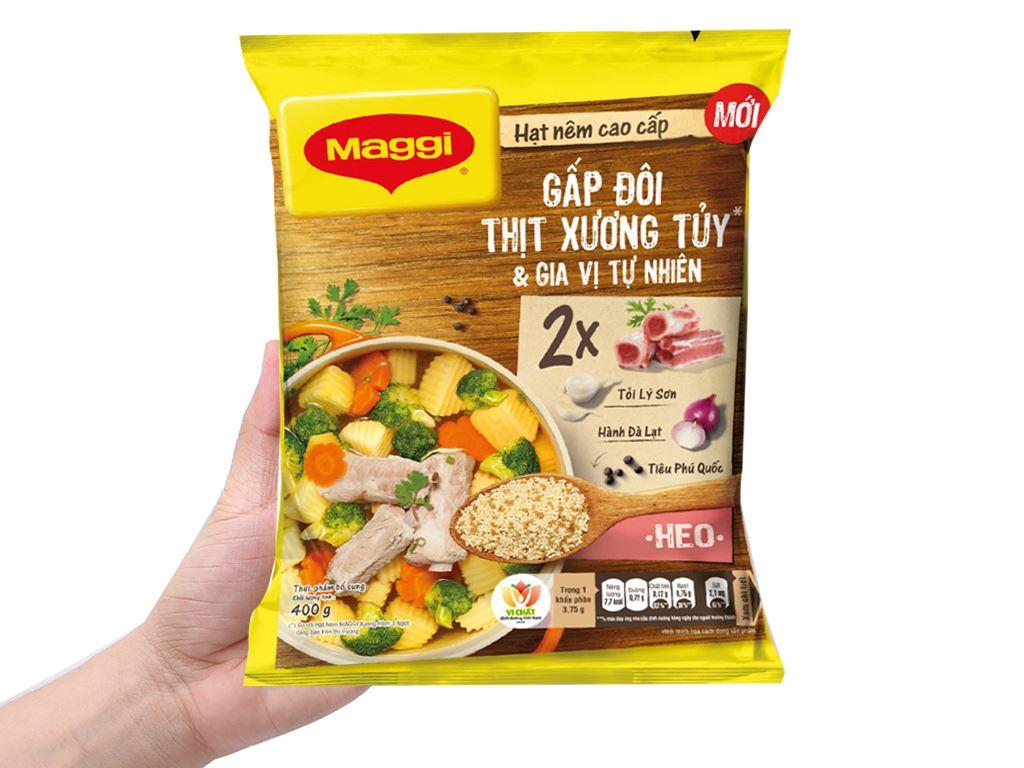 Hạt nêm thịt, xương, tủy Maggi gói 400g 2