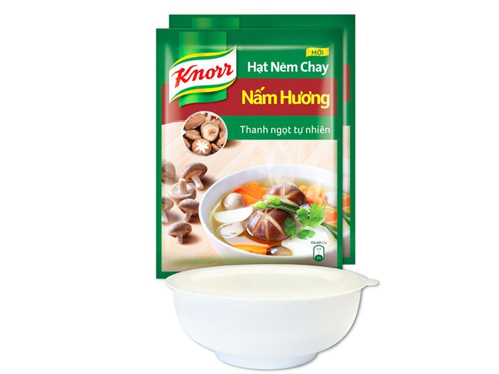 Hạt nêm nấm hương Knorr gói 400g (tặng tô có nắp) 1