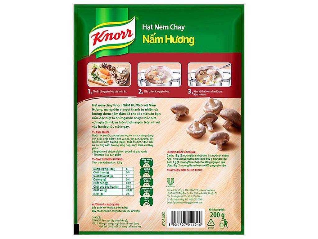 Hạt nêm nấm hương Knorr gói 400g (tặng tô có nắp) 3