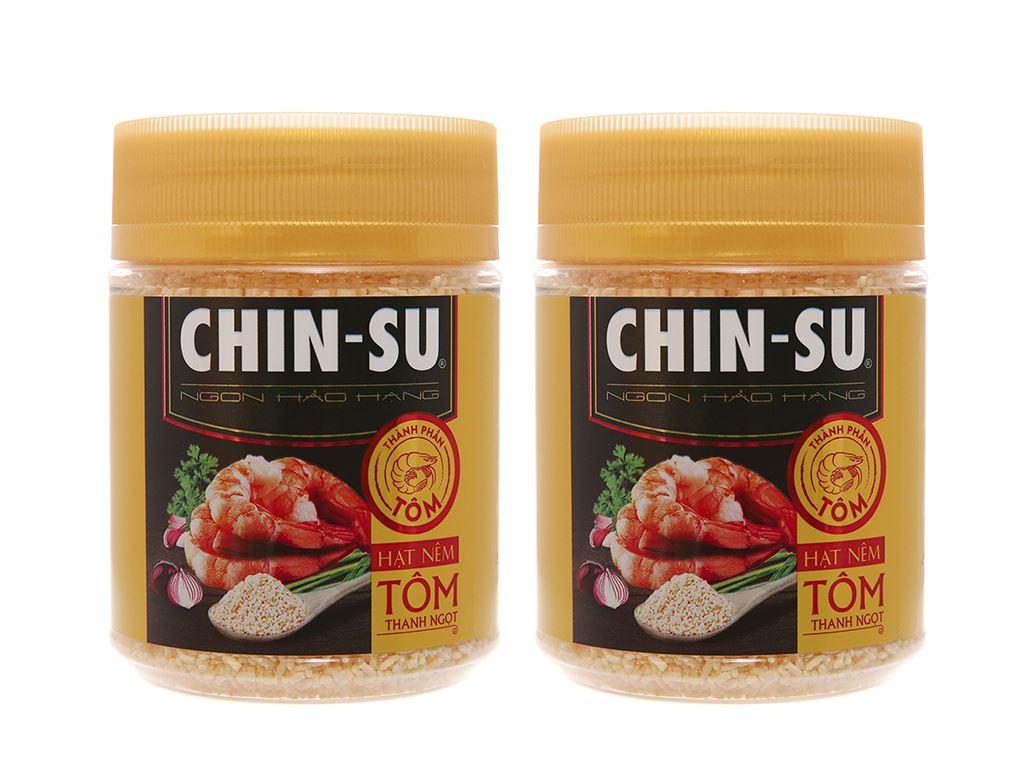 Combo 2 hũ hạt nêm tôm thanh ngọt Chinsu 190g 1