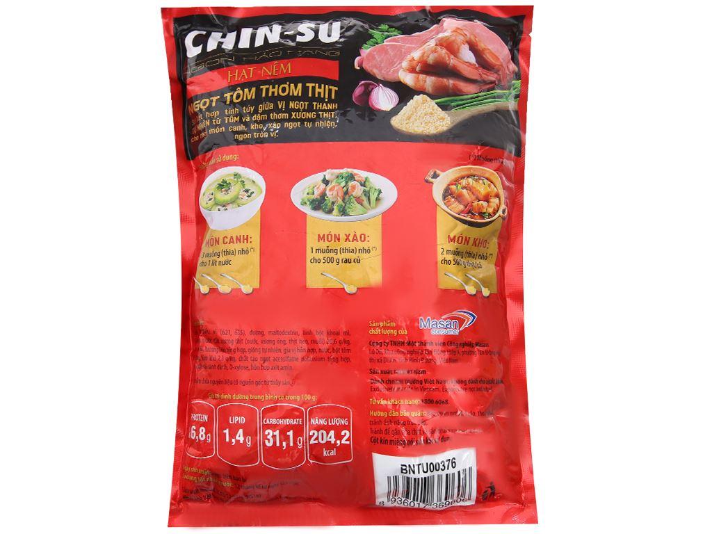 Hạt nêm Ngọt tôm thơm thịt Chinsu gói 800g 3