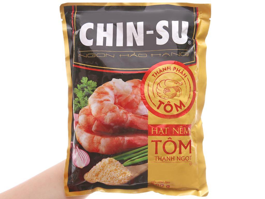 Hạt nêm Tôm thanh ngọt Chinsu gói 400g 3