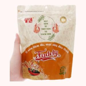 Hạt nêm từ thịt tôm và gạch tôm Fadely gói 390g