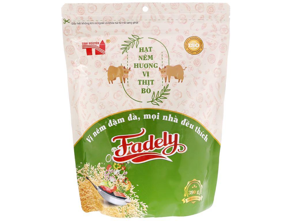 Hạt nêm vị thịt bò Fadely gói 390g 1
