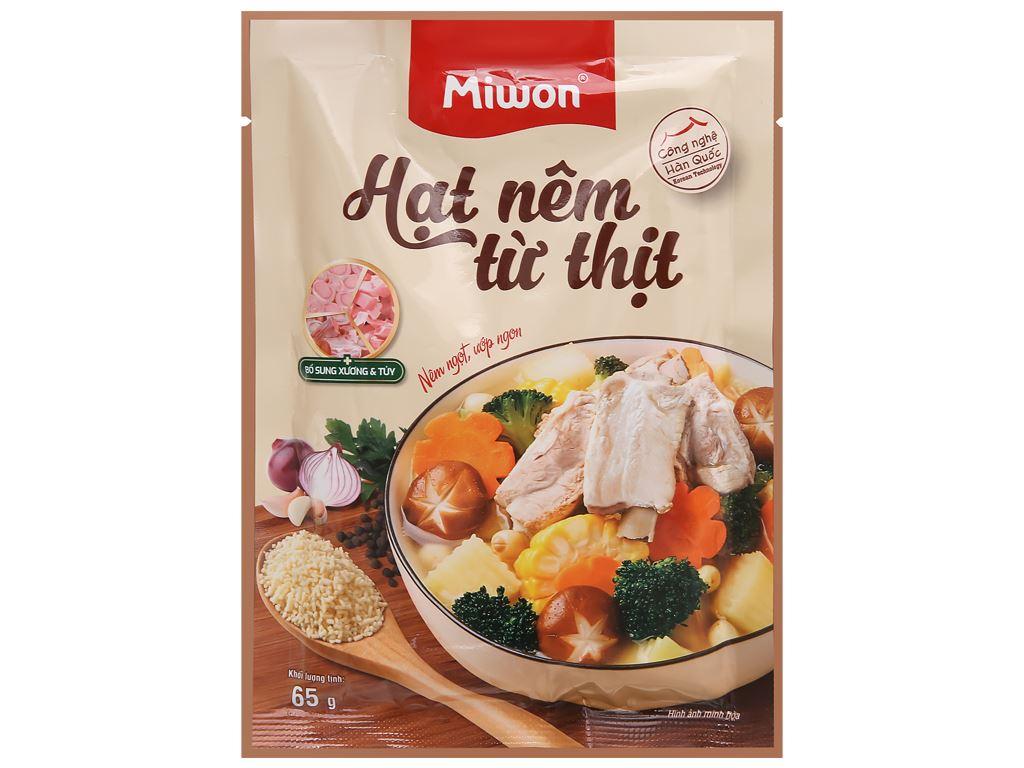 Hạt nêm từ thịt Miwon gói 65g 1