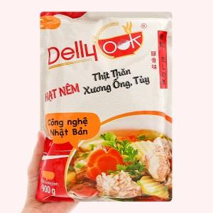 Hạt nêm thịt thăn, xương ống, tủy Delly Cook gói 900g