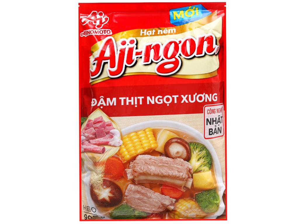 Hạt nêm vị heo Aji-ngon gói 900g 2