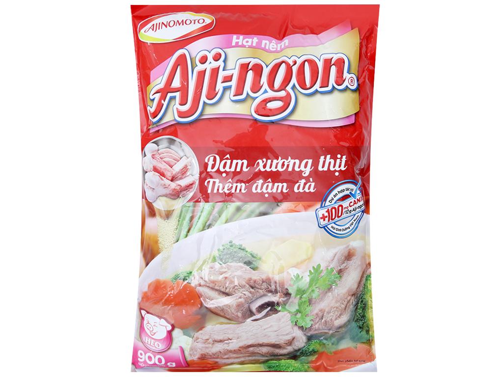 Hạt nêm Xương, thịt heo Aji-ngon gói 900g 1