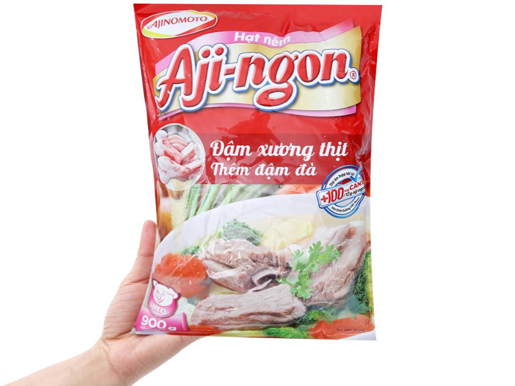 Hạt nêm xương, thịt heo Aji-ngon gói 900g 3