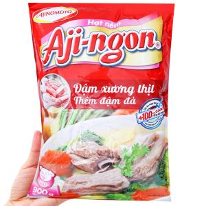 Hạt nêm xương, thịt heo Aji-ngon gói 900g