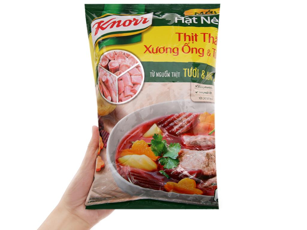 Hạt nêm thịt thăn, xương ống, tủy Knorr gói 900g 3